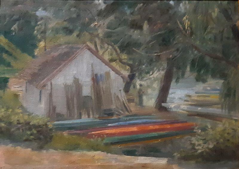 Dunaparti csónakház - Orosz Jánosné tulajdona