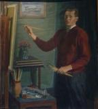 Önarckép - Orosz Jánosné tulajdona